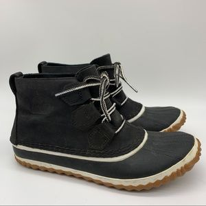 SOREL Out & About low ankle duck boots, 8.